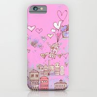iPhone & iPod Case featuring pink happiness by Marianna Tankelevich