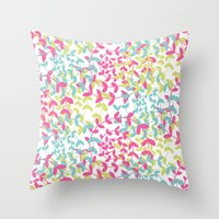 Four Seasons and the Circle of Life Throw Pillow