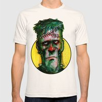 Frankensteins Monster is tired Mens Fitted Tee Natural SMALL