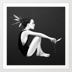 Skyling Art Print