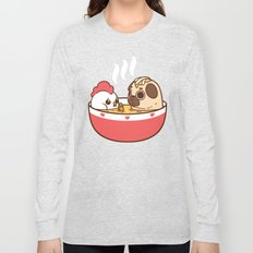Chicken Noodle Puglie Soup Long Sleeve T-shirt