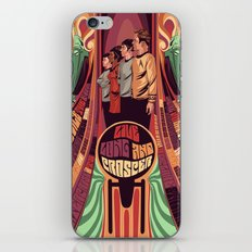 star trek psychedelic  iPhone & iPod Skin