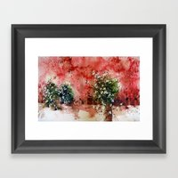 The Three Sisters Framed Art Print