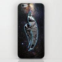 Rain Bird In Space iPhone & iPod Skin