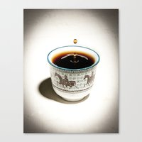 Tea Canvas Print