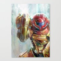 At Last The Galaxy Is At… Canvas Print