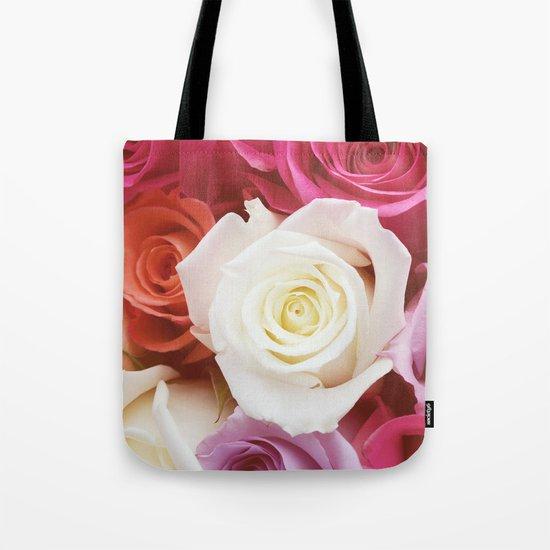 Romantic Rose Tote Bag