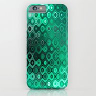 Wobbly Dots Light In Min… iPhone 6 Slim Case