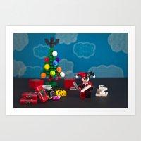 Henchmen Gifts Art Print