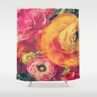 Ranunculus Shower Curtain