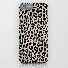 Tan Leopard Slim Case iPhone 6s