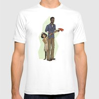 The Walking Dead Mens Fitted Tee White SMALL