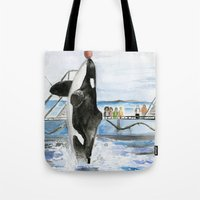 Marine Star Tote Bag