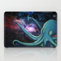 Octopus Astronaut  iPad Case