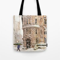 Winter in NYC Tote Bag