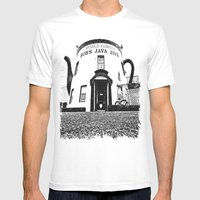 The Java Jive Mens Fitted Tee White SMALL