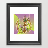 Skeletalope Framed Art Print