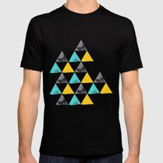 the power of three Mens Fitted Tee Black SMALL