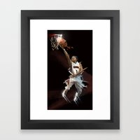 ERVIN X BASKETBALL Framed Art Print