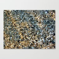 Beach Shell Sand  Canvas Print