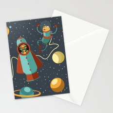 Space Scavengers Stationery Cards