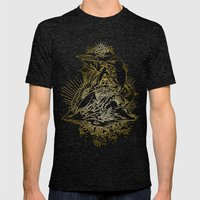 Sky Trumpets Mens Fitted Tee Tri-Black SMALL