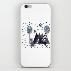 Love In The Woods iPhone & iPod Skin