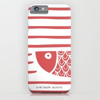 PIXE 2 (light Red) iPhone 6 Slim Case