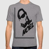 Noel Mens Fitted Tee Athletic Grey SMALL