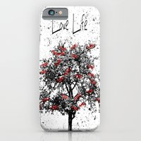 iPhone Cases featuring Love Life by Jessielee