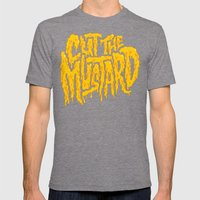 Cut The Mustard Mens Fitted Tee Tri-Grey SMALL
