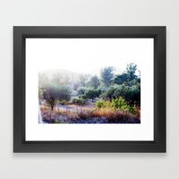 The Bush Framed Art Print