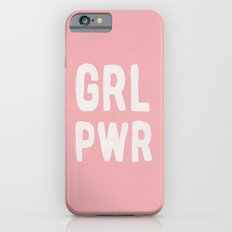 GRL PWR (pink) iPhone 6 Slim Case