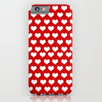 iPhone & iPod Case featuring Valentine Hearts  by ialbert