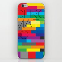 Chromatic Poster iPhone & iPod Skin