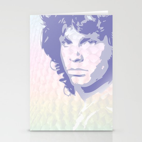 The Lizard King Stationery Card