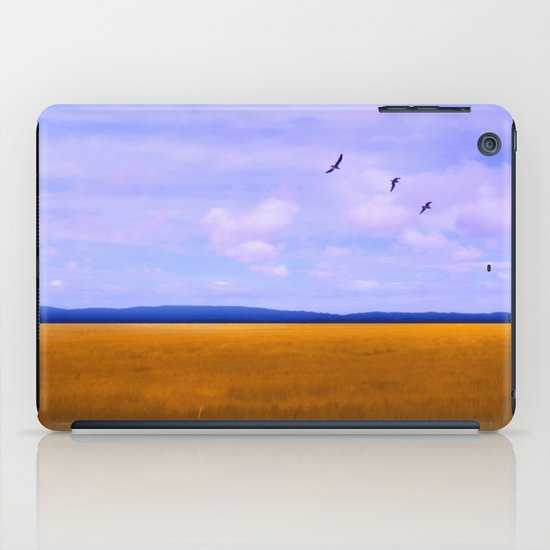 Golden Field iPad Case
