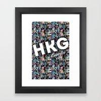 Hong Kong (Libertee City… Framed Art Print