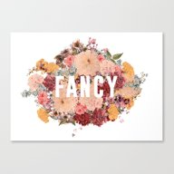 I'm So Fancy Canvas Print