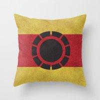 Iron Clade Colors Throw Pillow