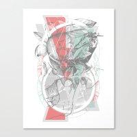 flour·ish Canvas Print