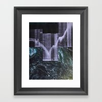 Away With The Tide Framed Art Print