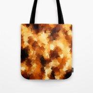 Cubist Fire Tote Bag