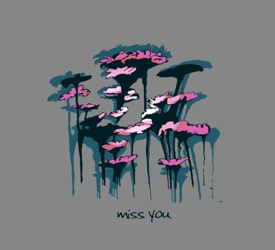 Miss You. Art Print