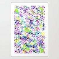 Galaxy Test Art Print