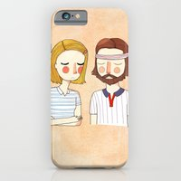 girl iPhone & iPod Cases featuring Secretly In Love by Nan Lawson