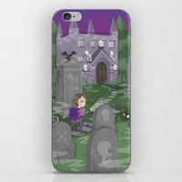 Exploring the Graveyard iPhone & iPod Skin