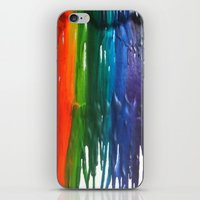 Crayons iPhone & iPod Skin