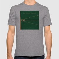 No237 My Robin Hood minimal movie poster Mens Fitted Tee Athletic Grey SMALL