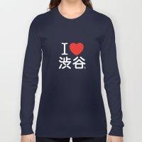 I ♥ Shibuya Long Sleeve T-shirt